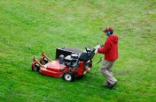 Man Mowing - Lawn Care